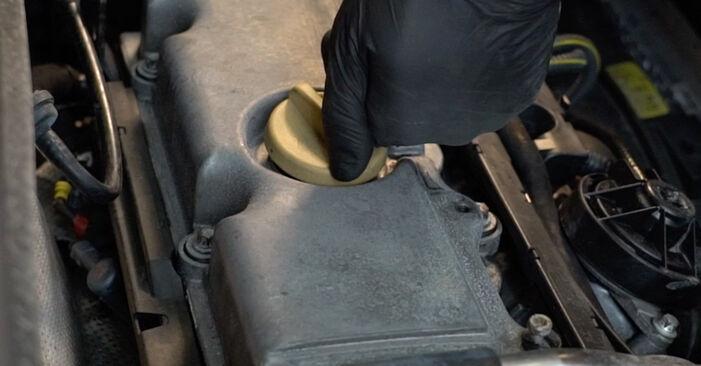 Opel Zafira A 1.8 16V (F75) 2001 Ölfilter wechseln: Kostenfreie Reparaturwegleitungen