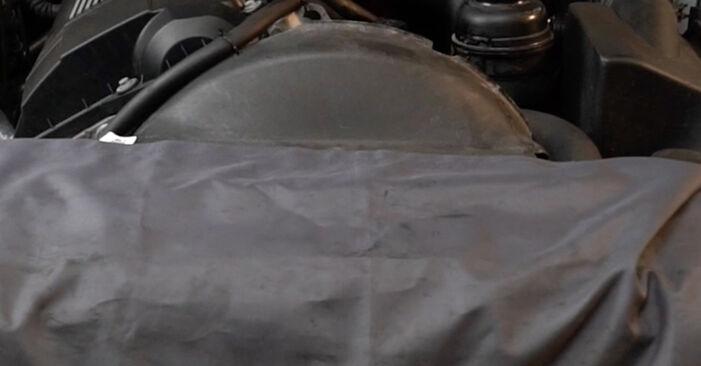 Jak dlouho trvá výměna: Palivový filtr na autě BMW E39 2003 - informační PDF návod