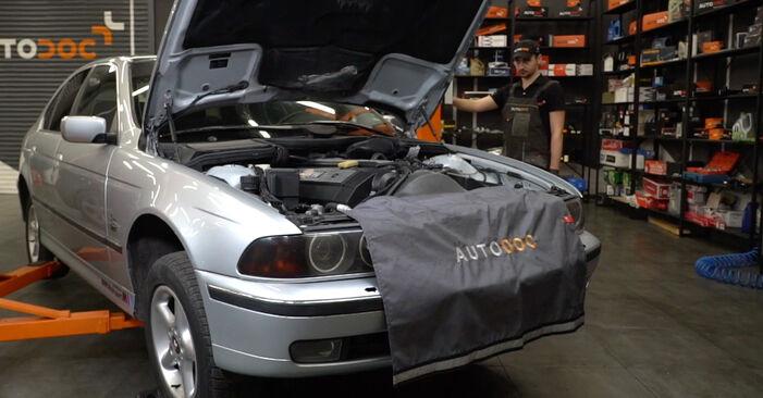 BMW E39 530d 3.0 1997 Palivový filtr výměna: bezplatné návody z naší dílny