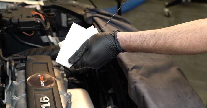 Wie VW POLO 1.6 2013 Ölfilter ausbauen - Einfach zu verstehende Anleitungen online