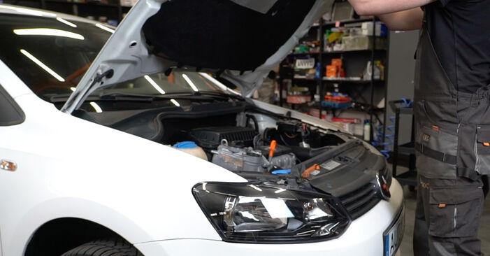 Wie Luftfilter beim VW Polo 5 Limousine 2009 gewechselt werden - Unentgeltliche PDF- und Videoanweisungen