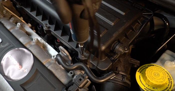 Polo Limousine (602, 604, 612, 614) 1.6 2020 Luftfilter - Tutorial zum selbstständigen Teilewechsel