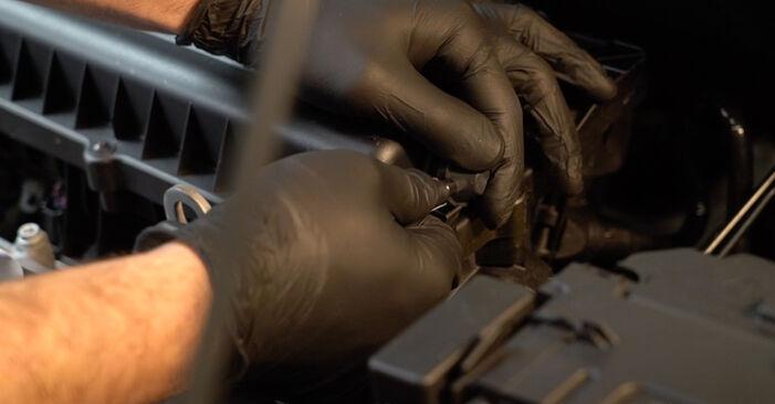 VW Polo 5 Limousine 1.4 2011 Luftfilter austauschen: Unentgeltliche Reparatur-Tutorials