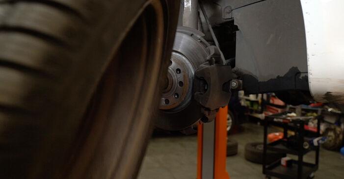 A3 Sportback (8PA) 1.6 2005 Амортисьор наръчник за самостоятелна смяна от производителя