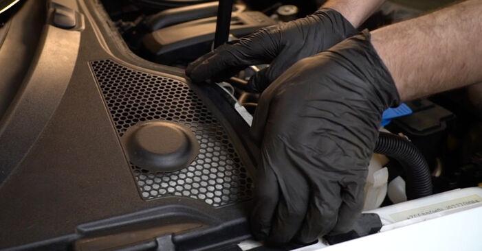 Как се сменя Амортисьор на AUDI A3 Sportback (8PA) 1.6 TDI 2007 самостоятелно
