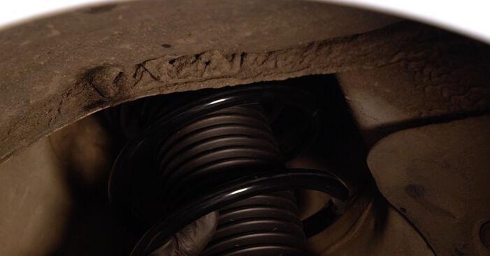 Как да сменим AUDI A3 Sportback (8PA) 2.0 TDI 16V 2005 Амортисьор - стъпка по стъпка инструкции и видео ръководства
