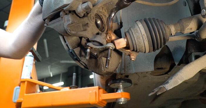 Колко време отнема смяната: Амортисьор на Audi A3 8pa 2012 - информативен PDF наръчник