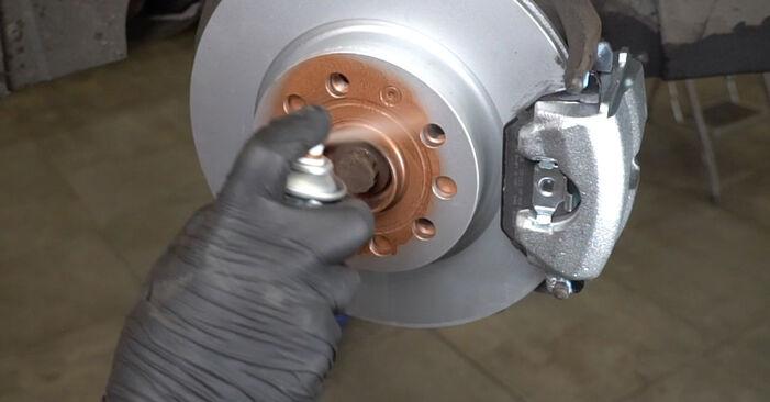 Как да сменим Амортисьор на AUDI A3 Sportback (8PA) 2009: свалете PDF наръчници и видео инструкции