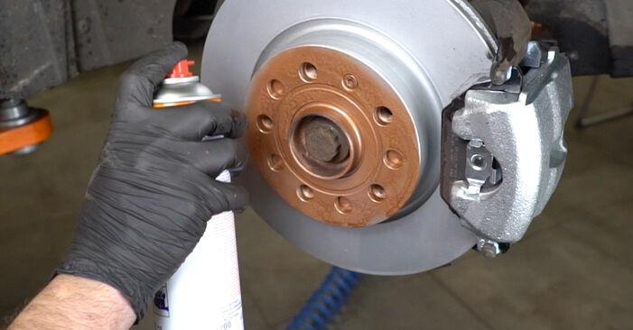 Не е трудно да го направим сами: смяна на Амортисьор на Audi A3 8pa 1.4 TFSI 2010 - свали илюстрирано ръководство