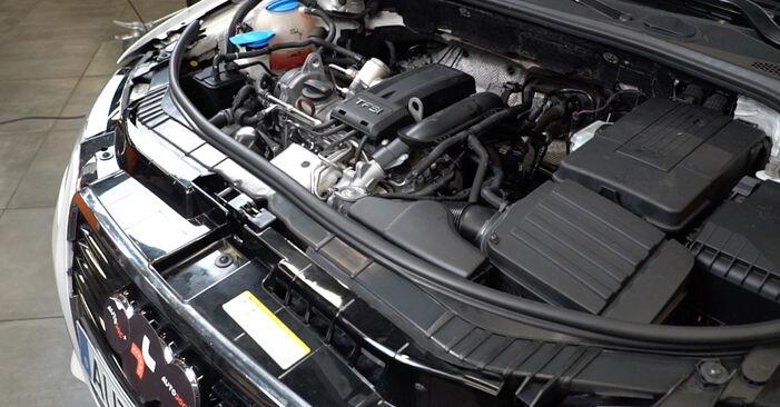 Как се сменя Амортисьор на Audi A3 8pa 2004 - безплатни PDF и видео уроци