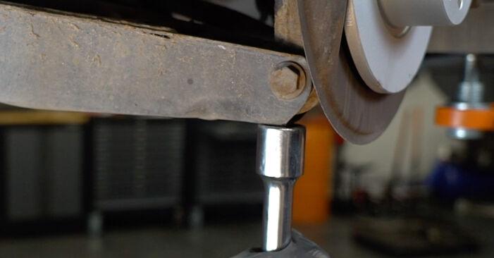 Schritt-für-Schritt-Anleitung zum selbstständigen Wechsel von Audi A3 8P 2007 1.6 Stoßdämpfer