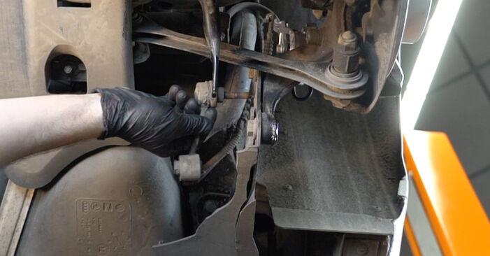 Kiek užtrunka keitimas: Audi A3 8pa 2012 Pasukimo trauklė - informatyvi PDF instrukcija