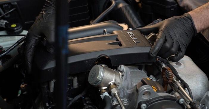 A3 Sportback (8PA) 1.6 2005 Запалителна свещ наръчник за самостоятелна смяна от производителя
