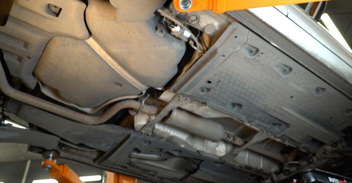 A3 Sportback (8PA) 1.6 2005 Filtro Carburante manuale di officina di ricambio fai da te
