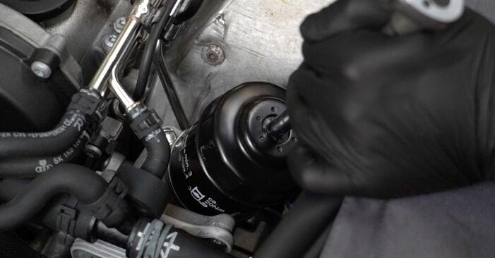 Schritt-für-Schritt-Anleitung zum selbstständigen Wechsel von Audi A3 8P 2007 1.6 Ölfilter