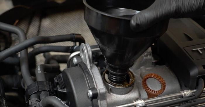 Wie AUDI A3 1.6 2008 Ölfilter ausbauen - Einfach zu verstehende Anleitungen online