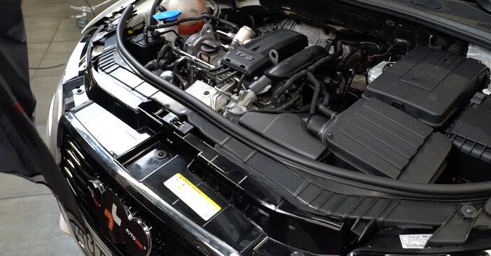 A3 Sportback (8PA) 1.6 2005 Levegőszűrő csináld magad csere szervizelési útmutató