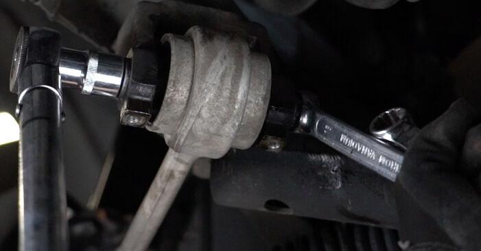 Zalecenia krok po kroku dotyczące samodzielnej wymiany BMW E39 1999 525tds 2.5 Amortyzator