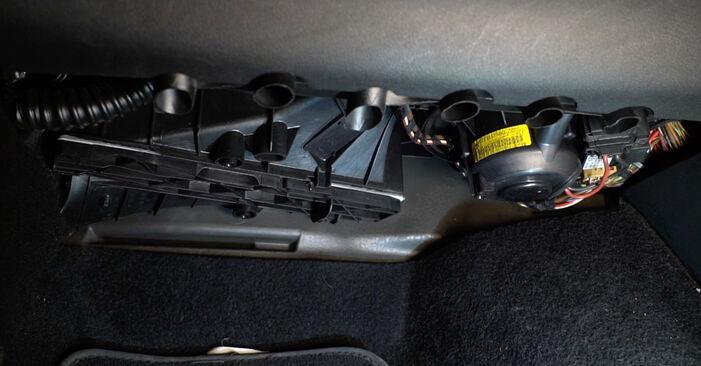 Octavia 1z5 1.6 TDI 2006 Oro filtras, keleivio vieta keitimas: nemokamos remonto instrukcijos