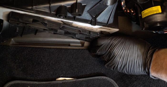 Savarankiškas SKODA Octavia II Combi (1Z5) 1.9 TDI 4x4 2007 Oro filtras, keleivio vieta keitimas