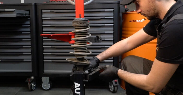 Changing of Shock Absorber on Fiat Grande Punto 199 2013 won't be an issue if you follow this illustrated step-by-step guide