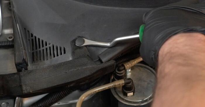 Fiat Grande Punto 199 1.4 2007 Shock Absorber replacement: free workshop manuals