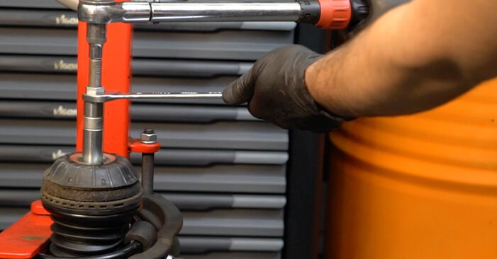 Need to know how to renew Shock Absorber on FIAT GRANDE PUNTO ? This free workshop manual will help you to do it yourself