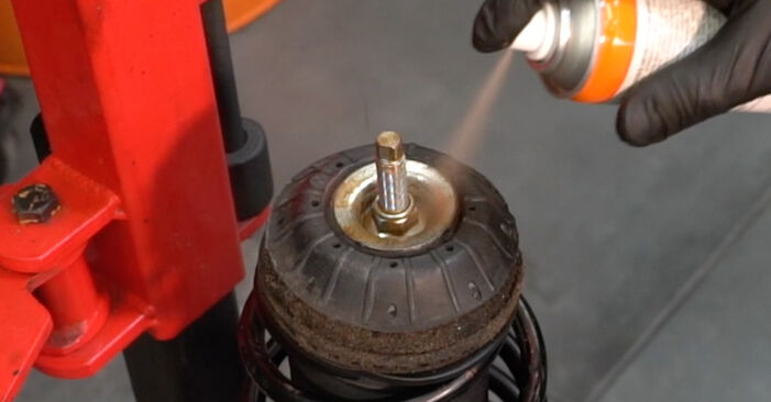 FIAT GRANDE PUNTO 1.4 Shock Absorber replacement: online guides and video tutorials