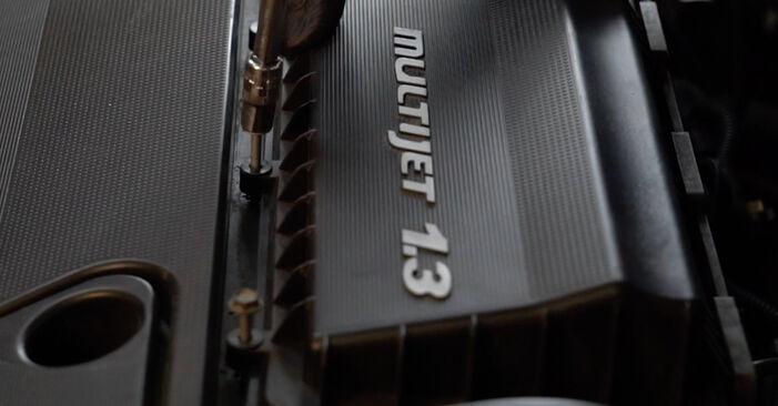 Luftfilter Ihres Fiat Punto 199 1.4 2013 selbst Wechsel - Gratis Tutorial