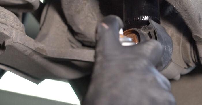 Kako težko to naredite sami: Blazilnik zamenjava na Audi A4 B8 Sedan 1.8 TFSI 2013 - prenesite slikovni vodnik