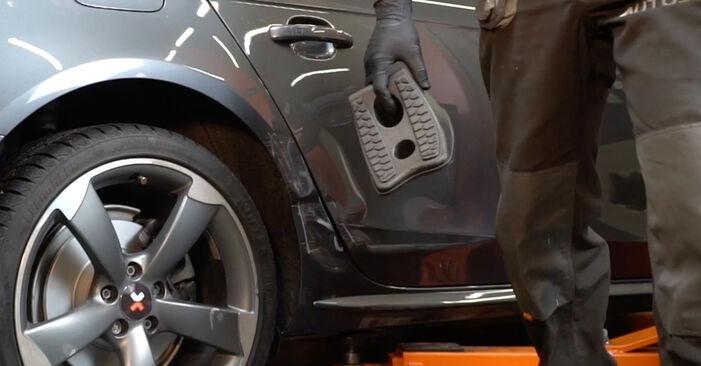 Kako zamenjati Blazilnik na AUDI A4 Sedan (8K2, B8) 2010 - nasveti in triki