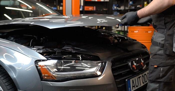 Wie Zündkerzen Audi A4 B8 2.0 TDI 2007 tauschen - Kostenlose PDF- und Videoanleitungen