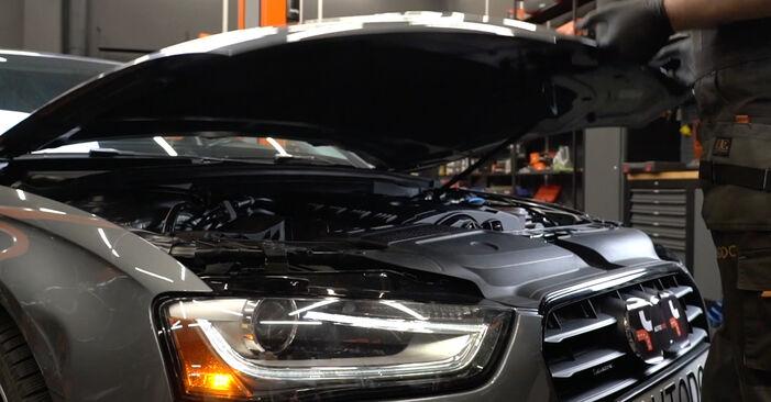 Zündkerzen Audi A4 B8 2.7 TDI 2009 wechseln: Kostenlose Reparaturhandbücher