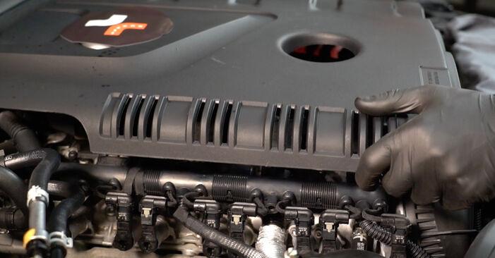 Audi A4 B8 1.8 TFSI 2009 Filtre à Huile remplacement : manuels d'atelier gratuits