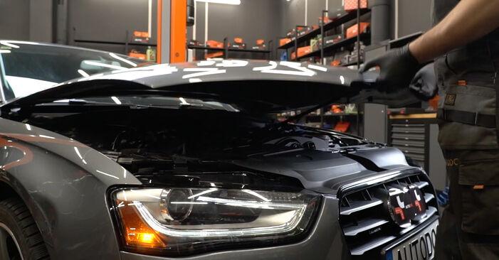 Comment changer Filtre à Huile sur Audi A4 B8 2007 - Manuels PDF et vidéo gratuits