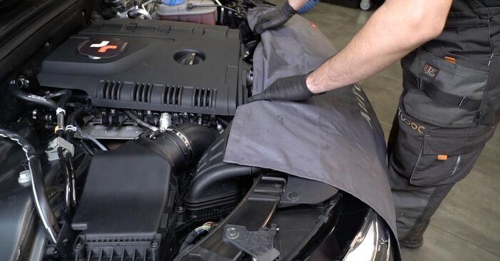 Kaip pakeisti AUDI A4 Sedanas (8K2, B8) 2.0 TDI 2008 Oro filtras - išsamios instrukcijos ir vaizdo pamokos