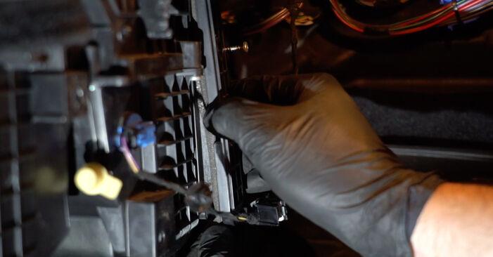 FORD FIESTA 1.4 TDCi Oro filtras, keleivio vieta keitimas: internetiniai gidai ir vaizdo pamokos