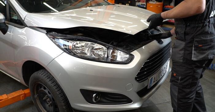 Wie Luftfilter Ford Fiesta Mk6 1.25 2008 tauschen - Kostenlose PDF- und Videoanleitungen