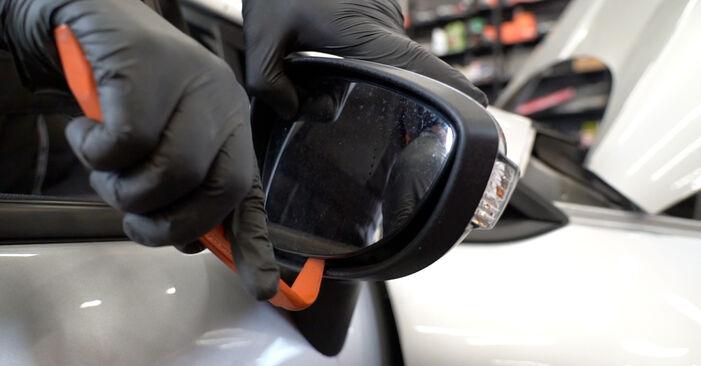 Wie Spiegelkappen Ford Fiesta Mk6 1.25 2008 tauschen - Kostenlose PDF- und Videoanleitungen