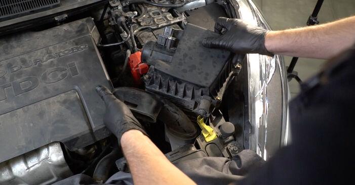 Come sostituire FORD Fiesta Mk6 Hatchback (JA8, JR8) 1.25 2009 Filtro Olio - manuali passo passo e video guide