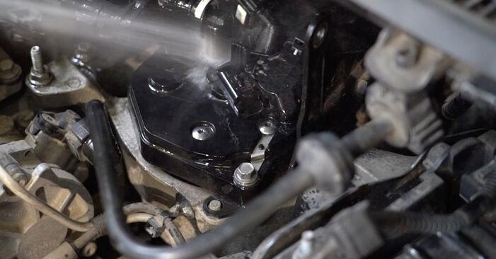Sostituzione di FORD FIESTA 1.4 TDCi Filtro Carburante: guide online e tutorial video