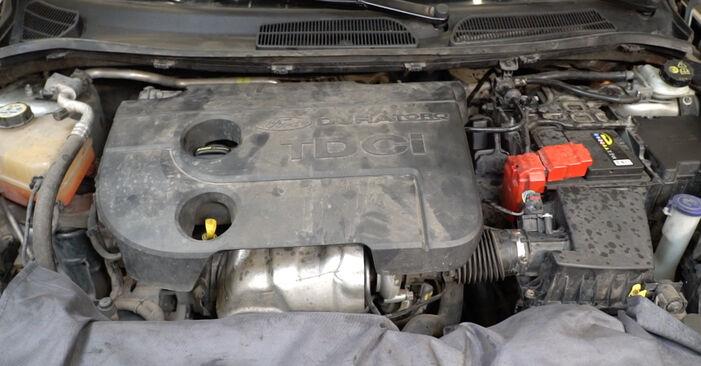 Come cambiare Filtro Carburante su FORD Fiesta Mk6 Hatchback (JA8, JR8) 2020 - suggerimenti e consigli