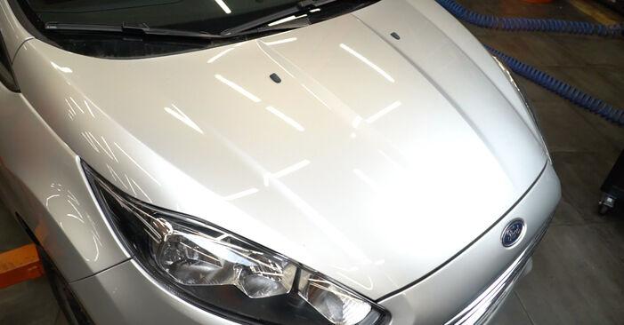 Sostituire Filtro Carburante su FORD Fiesta Mk6 Hatchback (JA8, JR8) 1.6 TDCi 2008 non è più un problema con il nostro tutorial passo-passo