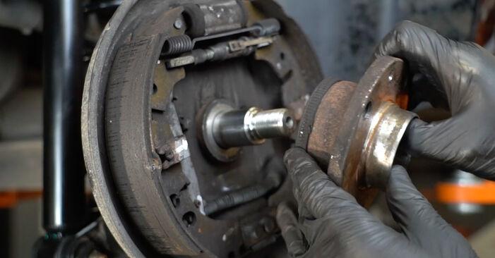Corsa D Хечбек (S07) 1.3 CDTI (L08, L68) 2008 Колесен лагер наръчник за самостоятелна смяна от производителя