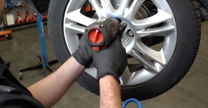 Колко време отнема смяната: Колесен лагер на Opel Corsa D 2014 - информативен PDF наръчник