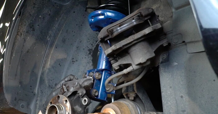 Savarankiškas OPEL Corsa D Hatchback (S07) 1.0 (L08, L68) 2009 Rato guolis keitimas