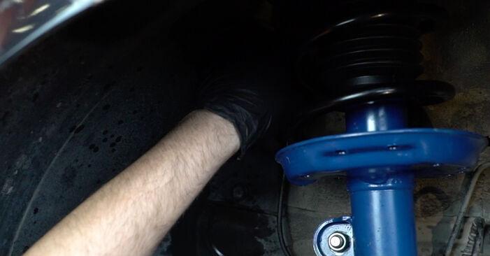 Kaip pakeisti Rato guolis OPEL Corsa D Hatchback (S07) 2011: atsisiųskite PDF instrukciją ir vaizdo pamokas
