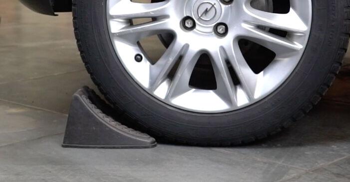 Come cambiare Freno a Tamburo su Opel Corsa D 2006 - manuali PDF e video gratuiti