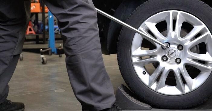 Come sostituire OPEL Corsa D Hatchback (S07) 1.3 CDTI (L08, L68) 2007 Freno a Tamburo - manuali passo passo e video guide