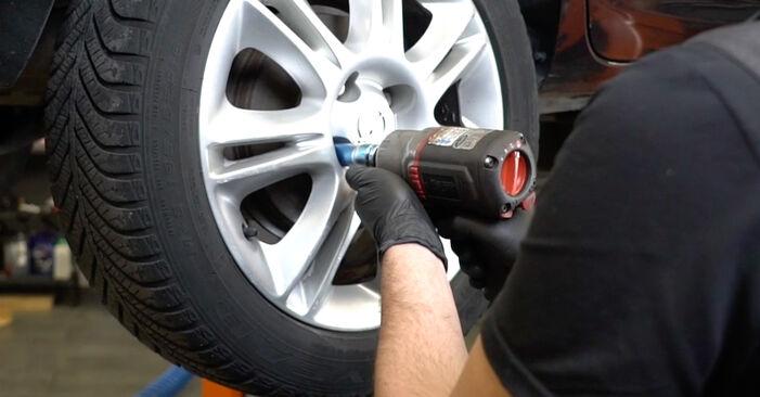 Modifica Freno a Tamburo su OPEL Corsa D Hatchback (S07) 1.0 (L08, L68) 2009 da solo